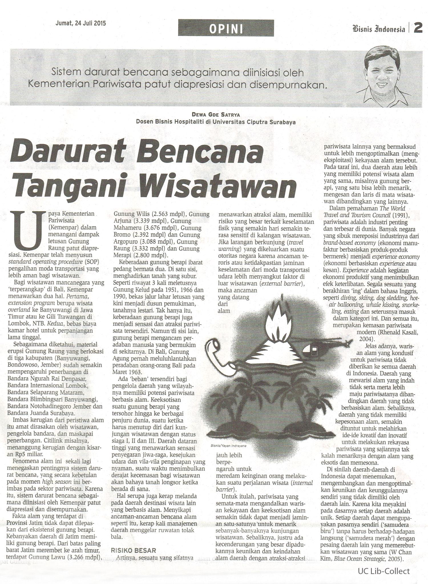 Darurat-Bencana-Tangani-Wisatawan.-Bisnis-Indonesia.-24-Juli-2015.Hal.2