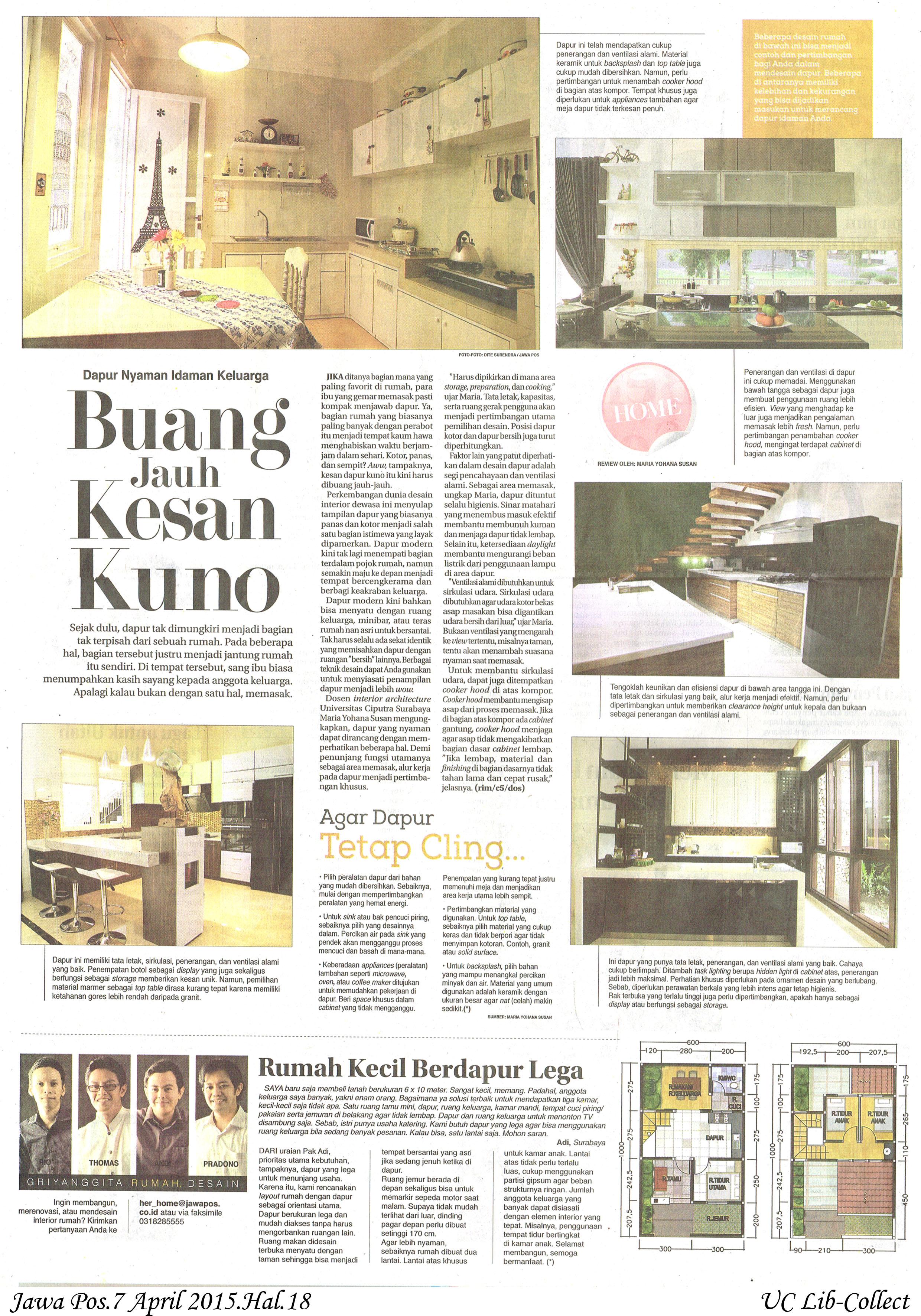 Buang Jauh Kesan Kuno. Jawa Pos.7 April 2015.Hal.18