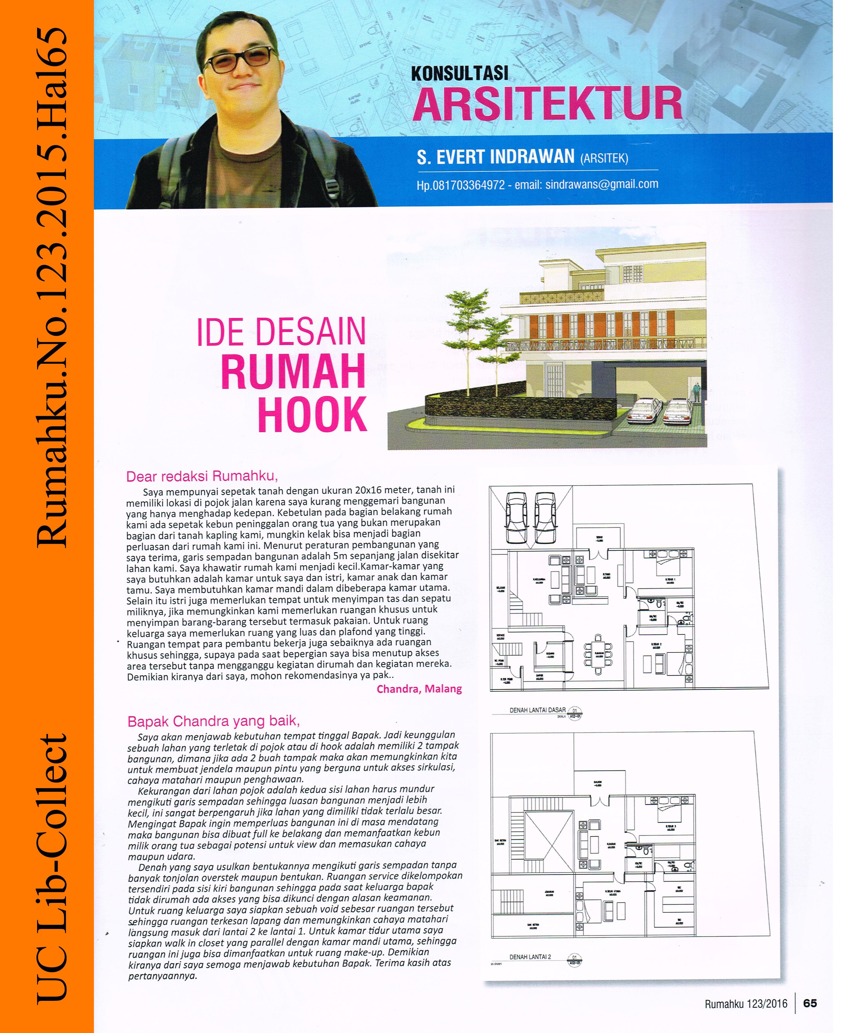 Ide Desain Rumah Hook Universitas Ciputra