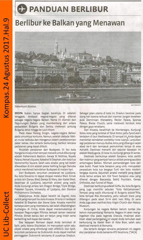 Berlibur ke Balkan yang Menawan. Kompas. 24 Agustus 2017. Hal.9 001-page-001