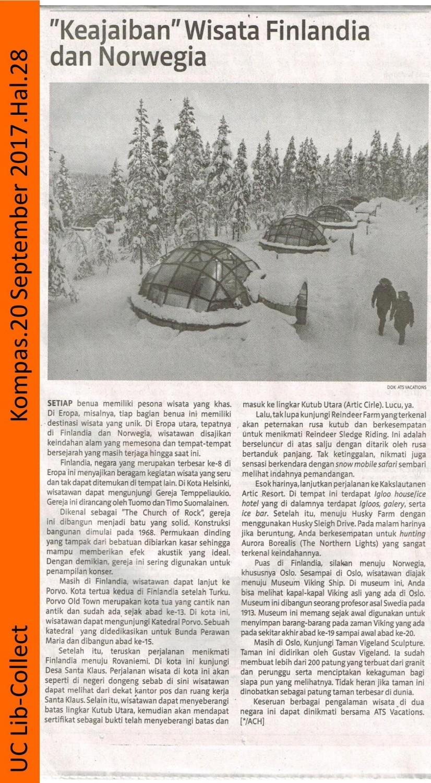 Keajaiban Wisata Finlandia dan Norwegia. Kompas. 20 September 2017. Hal.28 001-page-001