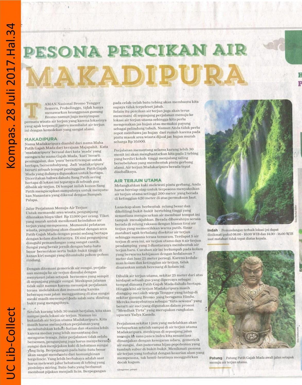Pesona Percikan Air Makadipura.Kompas. 28 Juli 2017. Hal 34 001-page-001