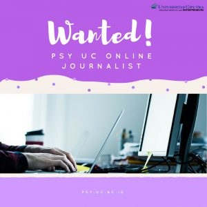 [NOW HIRING] PSY UC Online Journalist Hunt