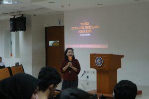 Kuliah Tamu Ethics of Psychology: Kupas Tren Etika Psikolog Zaman Now