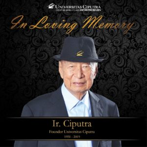 In Loving Memory Pak Ciputra
