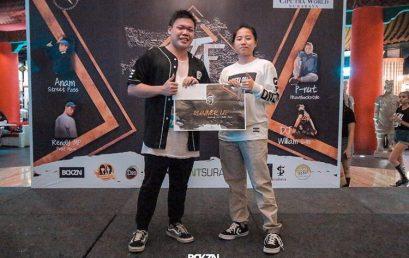 Juara II Kategori 1 on 1 Freestyle Battle Dance Competition 2017 yang diselenggarakan oleh Be The First Vol. 2