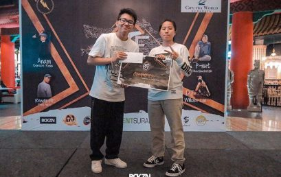 Juara I Kategori 1 on 1 Freestyle Battle Dance Competition 2017 yang diselenggarakan oleh Be The First Vol. 2