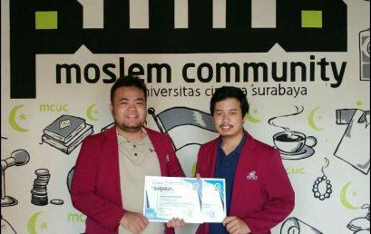 Juara 6 Lomba Trading dan Analisis Saham yang diadakan oleh KSPM UNSSAF di Universitas Negeri Semarang