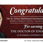Congratulation For Earning The Doctor Of Education