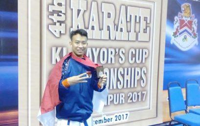 "Bronze Medals – 55 KG Senior Male Kumite ""4th International Club Karate Championship Kuala Lumpur Mayors Cup 2017"""