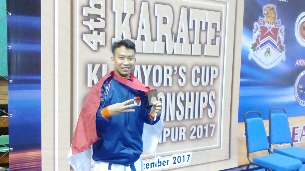 "Bronze Medals – 55 KG Senior Male Kumite ""4th International Club Karate Championship Kuala Lumpur Mayors Cup 2017"""