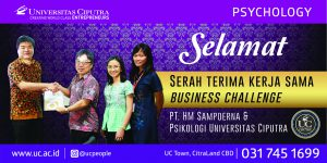 Selamat – Serah Terima Kerjasama Business Challenge