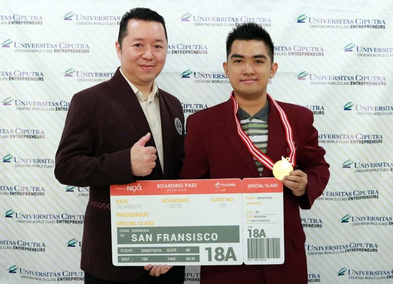 Cosmas Sakristiandio, 10 Peserta Terbaik IndonesiaNEXT 2017