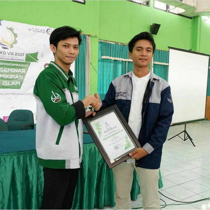 UKM MCUC (UKM Muslim) sebagai Komunitas Muslim Teraktif di Surabaya pada 3-5 November 2017