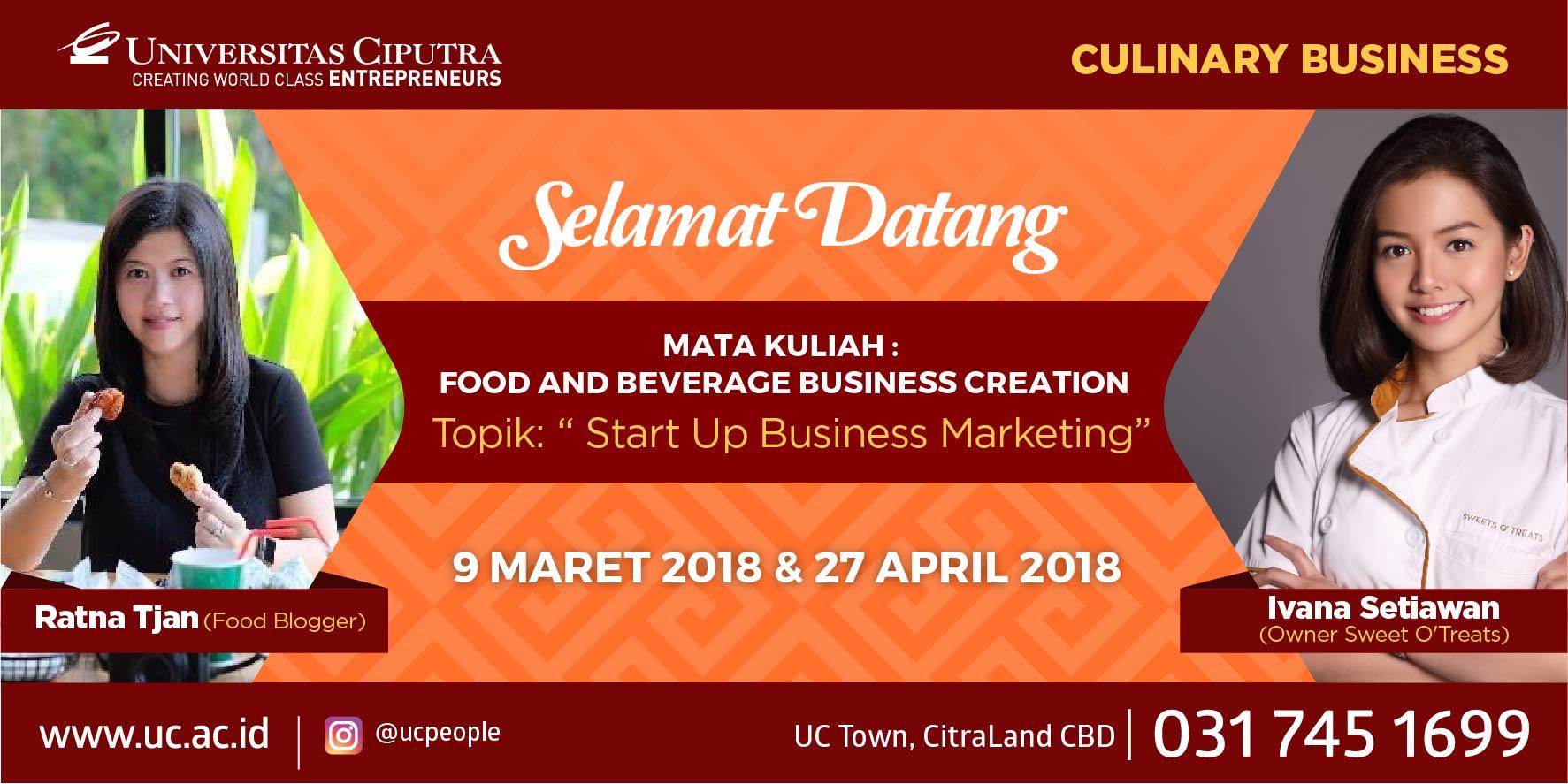 Start-up Business Bidang FnB Ala Ratna Tjan