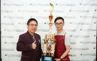 "Juara I ""Coffee Competition Manual Brewing"" dalam acara Gelar Cipta Boga 2018"