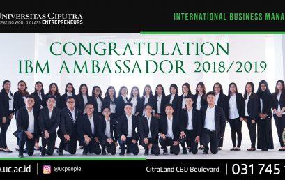 Congratulation IBM Ambassador 2018/2019
