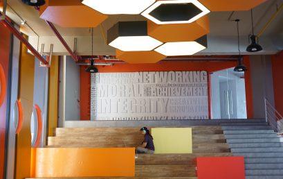 Students Lounge Baru UC Tower yang Sarat dengan Seni