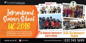 International Summer School UC 2018