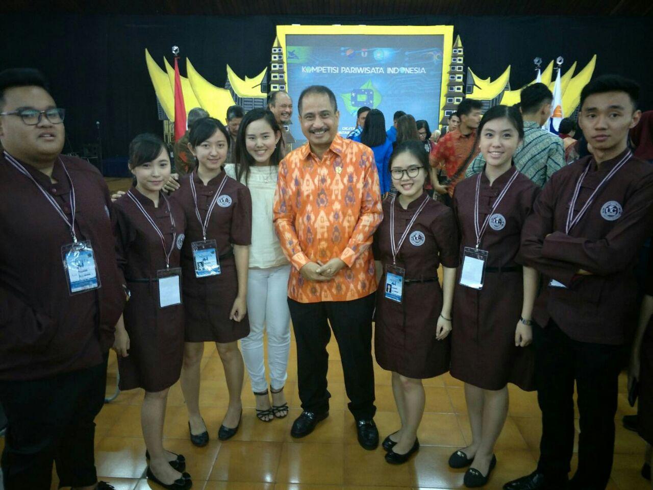 Juara 2 Kompetisi Pariwisata Indonesia untuk kategori Business Event Proposal 2018