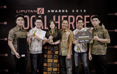 Penghargaan Liputan 6 Award 2018 untuk Kategori Best Directing – Judul Karya : Laskar Sungai