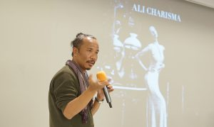 """The Challenge to be a Fashion Designer"" with Ali Charisma"