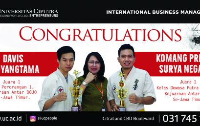 Congratulation – International Business Management Achievement