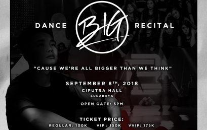 "BIG DANCE CREW Proudly Presents "" BIG """