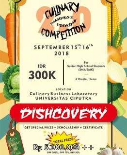 Cooking Competition for all future chef(s)