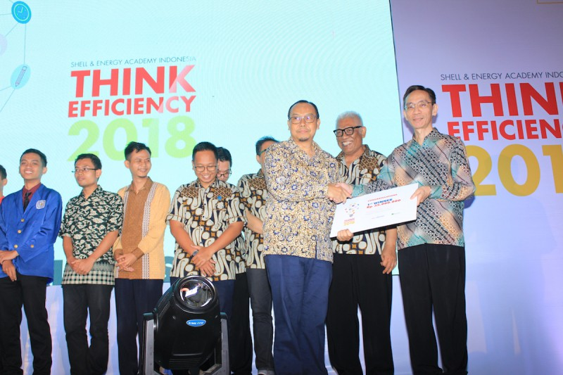 Think Efficiency 2018, Dosen UC Juara 1!