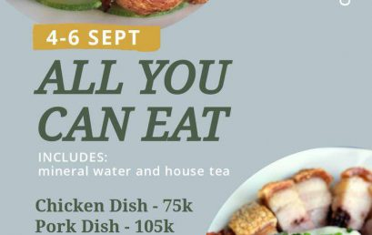 """ALL YOU CAN EAT – By : Restoran """"L'ETOILE BISTRO"""""""