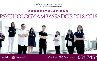 Congratulation – Psychology Ambasador 2018