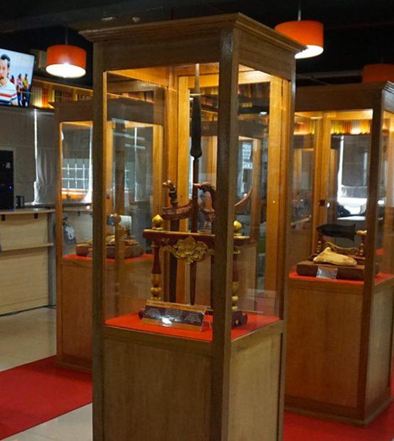 Pameran Koleksi (Keris & Asesorisnya) dari Museum Gubug Wayang Mojokerto