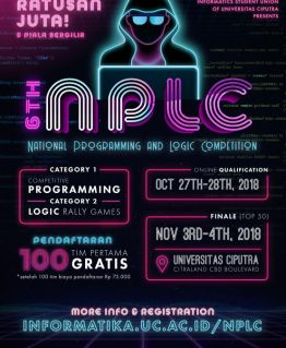 6th National Programming and Logic Competition (NPLC) 2018