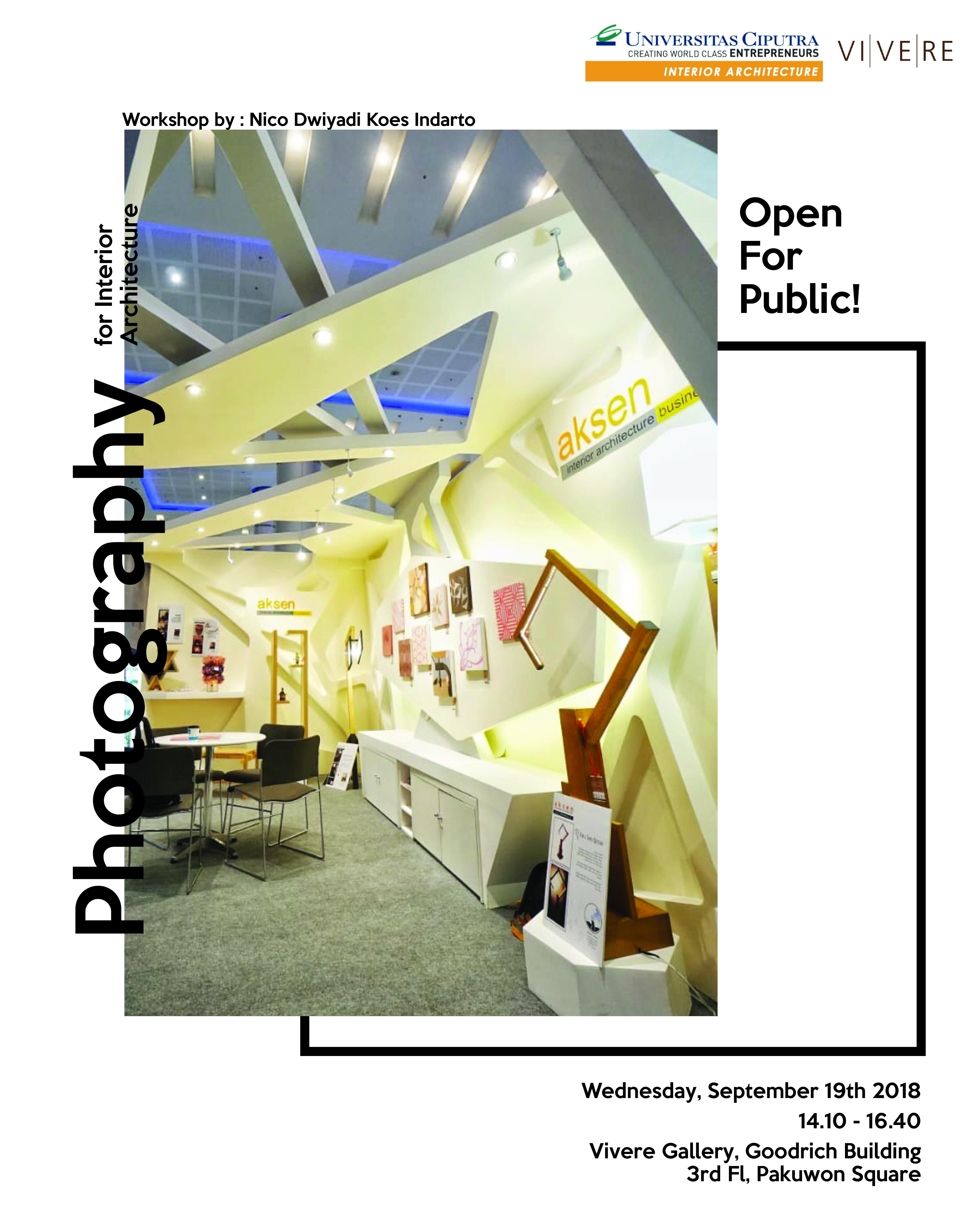 Photography for Interior Architecture