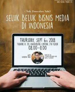"""i'Talk"" (Innovation Talk) – Seluk Beluk Bisnis Media di Indonesia"