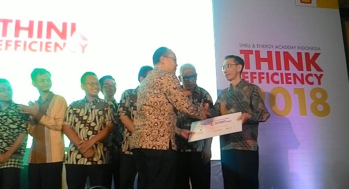 Juara 1 Kompetisi Shell Think Efficiency 2018